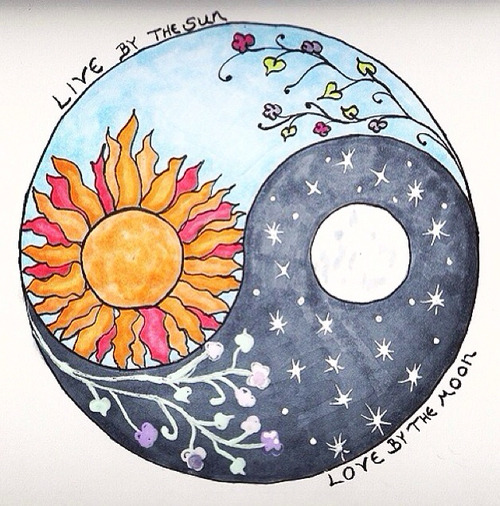 Yin Yang día y noche
